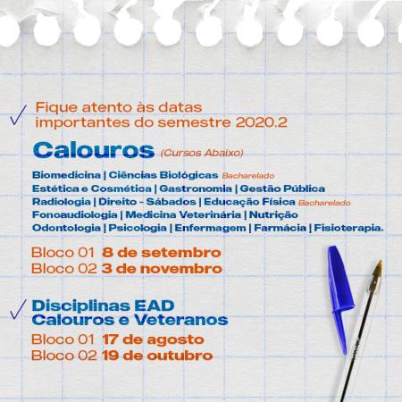 Calendario Sou UNP 3
